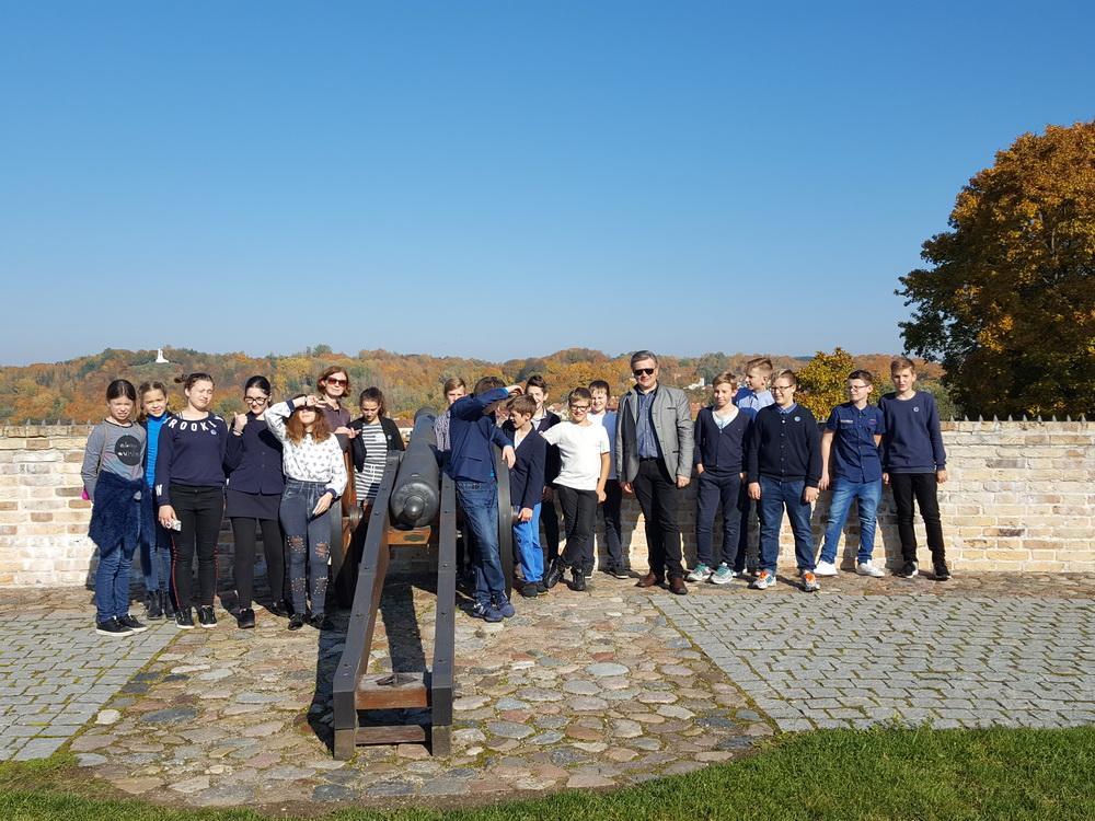 Vilniaus 6A klasė gynybinės sienos bastėjoje
