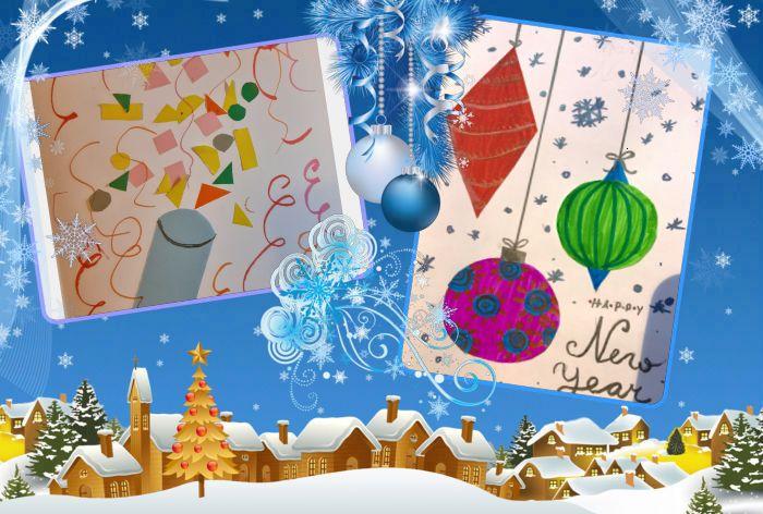 Kalėdinis, matematinis … atvirukas