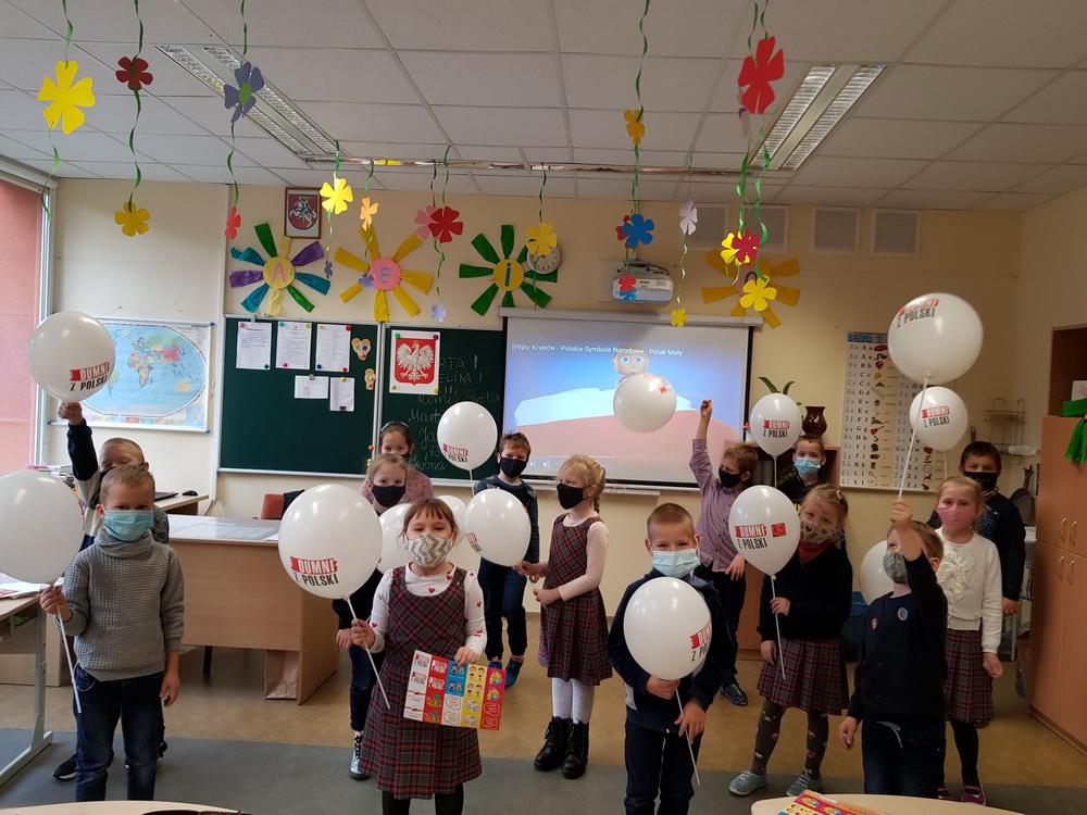 Lenkijos Nepriklausomybės diena pas pirmokus