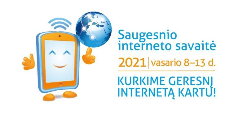 Saugesnio interneto savaitė 2021