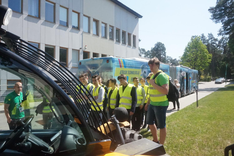 Išvyka į Vilniaus Jeruzalės darbo rinkos mokymo centrą